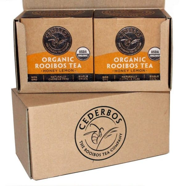 50g Cederbos Rooibos Honey Lemon