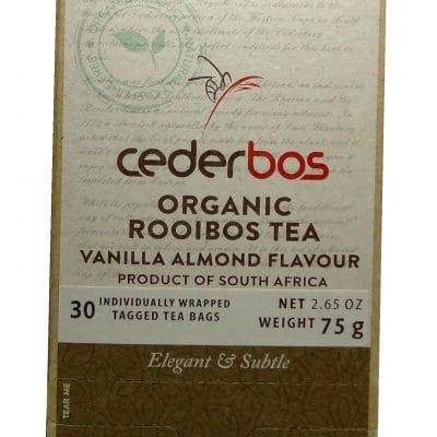 75g Cederbos Rooibos Vanilla Almond
