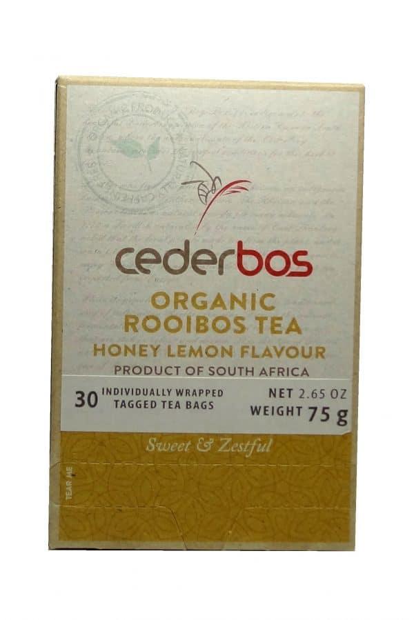 75g Cederbos Rooibos Honey Lemon