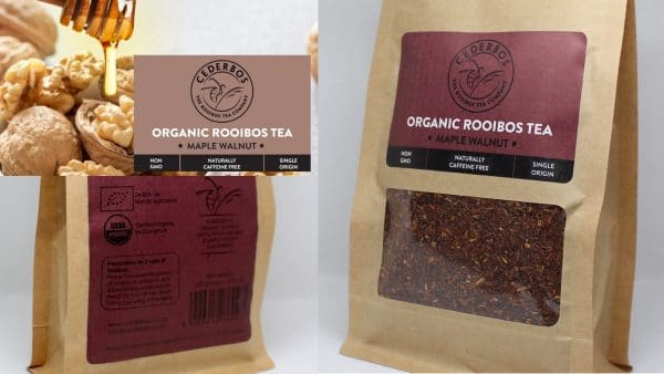 100g Cederbos Rooibos Maple Walnut pouch