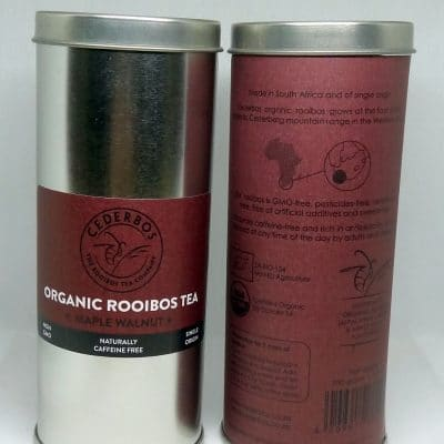 100g Cederbos Rooibos Maple Walnut Tin