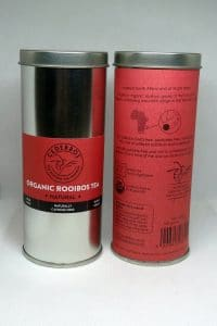 cederbos organic natural rooibos 100g tin