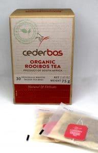 cederbos organic natural rooibos 75g