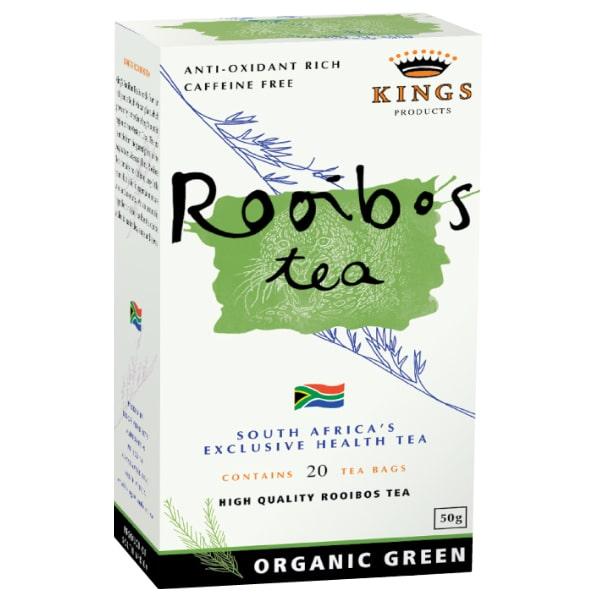 Kings Organic Green Rooibos