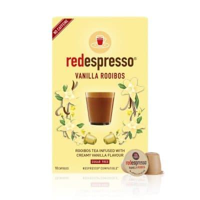 redespresso - vanilla rooibos capsules
